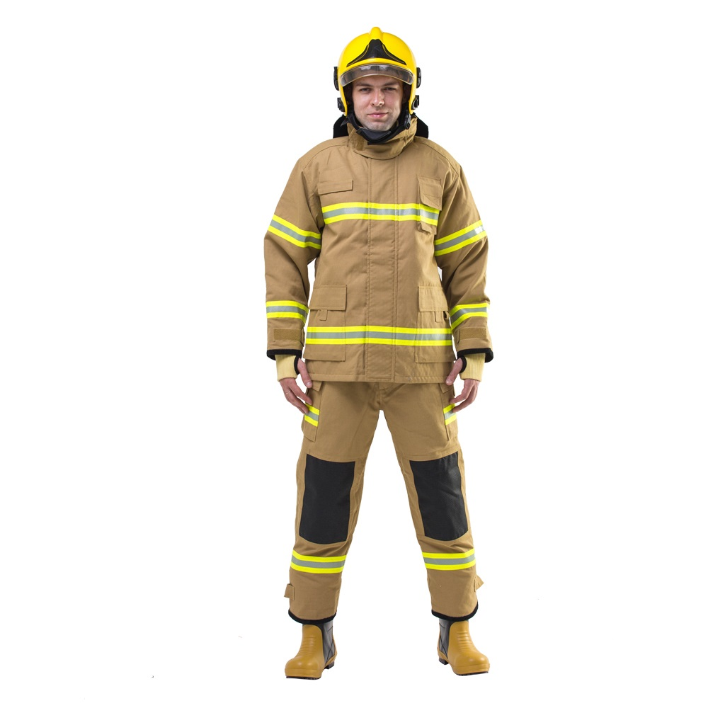 Fire Resistant Fireman Anti Acid Clothing