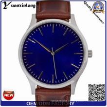 Yxl-928 marca de lujo de los hombres famosos relojes moda ocio reloj de cuarzo reloj de negocios de cuero Reloj masculino Relogio Masculino