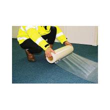 PE Film de protection pour tapis