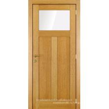 Незавершенные один стакан две панели деревянные двери