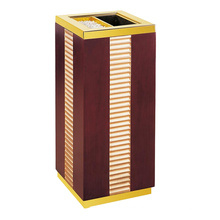 Wooden Waste Bin for Lobby (YW0060)