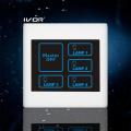 Interrupteur tactile à 4 broches avec cadre de contrôle maître (SK-T2300L4-M)