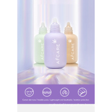 Three-Color Base Cream Evens Skin Tone to Cover Imperfections Protect Skin