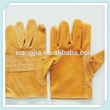 Travail de sécurité vache split gants de conduite de voiture en cuir, Mens Full palm portable Wearable Split Split gants de sécurité en cuir avec CE