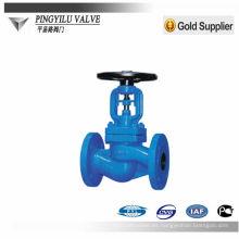 Accesorios de agua válvula de gas válvula de globo de acero inoxidable