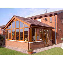 Woodwin Best Seller Aluminium Maison verte pour jardin de villa