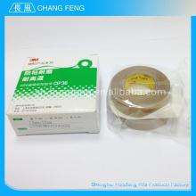 2015 venda quente isolamento elétrico de alta tensão alta temperatura ptfe revestida de fita adesiva