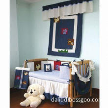 Baby Bedding Set Made of 100% Cotton Denim Fabric and T/C Waffle Pique