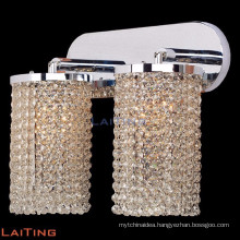 Wall sconce brass lamp crystal chandeliers double crystal wall lamp 32431