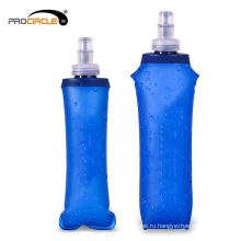 Гидратации Спорт мягкий ТПУ фляга Складная бутылка воды