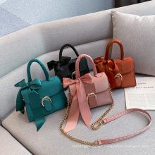 Woman Ladies Cheap Chain Handbag with Shoulder Handbags Wholesale China Shoulder Bag