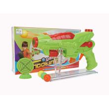 Plástico brinquedo elétrico b / o gun (h9785001)