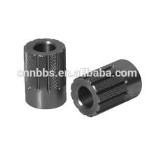 precision CNC machined gear 12 shaft spline shaft coupling