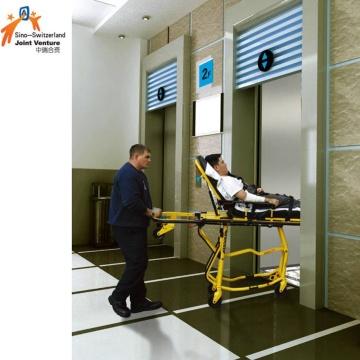 Elevador do hospital para a cama paciente da maca médica