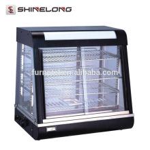 Vitrina de exibição de vidro de bancada K101