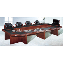 Paper upholstery meeting desks for office used, Double layer meeting table provide (T08)