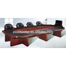 Бумажная обивка для столов для офиса, двухуровневый стол для совещаний (T08)