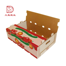 Cajas de cartón de lujo baratas más nuevas directas de la fábrica al por mayor para la fruta