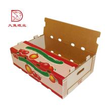 Boîtes en carton fantaisie bon marché plus récentes d'usine en gros pour le fruit