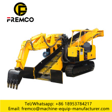 Mucking Machine Loader Tipo de rastreador