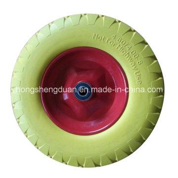 Заводская цена 400-8 PU колеса из пеноматериала