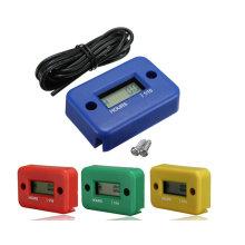 Digital Wasserdichte Motor Tachometer Motorrad Racing Hour Meter Record