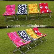 Outsunny Black Ajustável Folding Reclining Beach Sun Lounge Chair