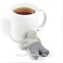 Creative High Quality Silicone Tea Infuser Trousers Shape Silicone Tea Strainer