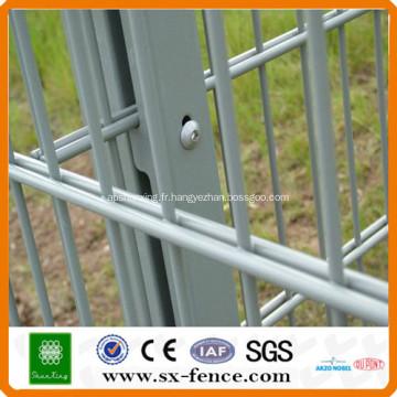 ISO9001 Professionnel fabricant Anping shunxing usine Soudé Double clôture de fil