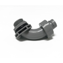 Plastic Curve joint fittings for hose