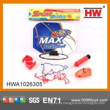 Venta caliente deporte juego para niños baloncesto conjunto con bomba