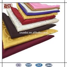 Moderno al por mayor de la boda de algodón decorativo de higiene de tela de lino servilletas de mesa