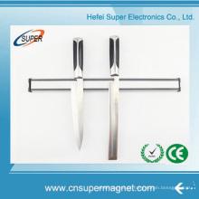 Porta-faca magnético com luva de aço inoxidável para pendurar porta-ferramentas