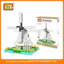 Windmühle Diamant-Bausteine, Gebäude-Set, Mega-Blöcke