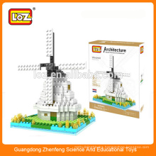 Windmill diamond building blocks, building set, mega blocks