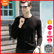 New fashion trendy men sweater wool crewneck sweaters for wholesale