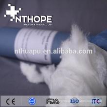Rolo de algodão hidrofílico absorvente 100% algodão