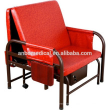 Кресло для гостей красного цвета