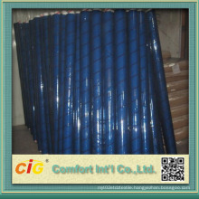 Vinyl Clear Sheet White Color blue Color