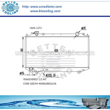 Radiador auto para MAZDA EVEREST 2.5 MT