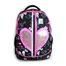 Wholesale Customizable Logo Cute Girls Glitter Bag Reversible Shining Sequin Backpack
