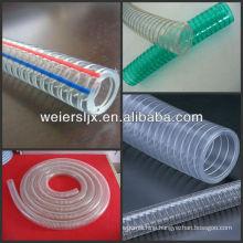 PVC steel wire reinforced hose making machine line