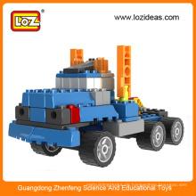 Weihnachtsgeschenke Loz 5in1 gruond Kampf eingefügt Blöcke Spielzeug Maschinenbau, Spielzeug LKW