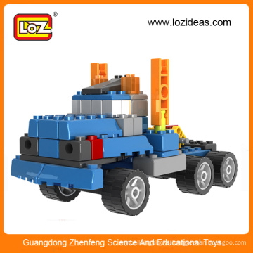Christmas gifts Loz 5in1 gruond fight inserted blocks toy engineering machinery ,toy truck