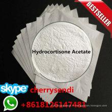 Anti-Inflammatoire CAS 50-03-3 de poudre topique d'acétate d'hydrocortisone