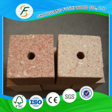 Wood Material Type Chipblocks Cheap Price for Packing