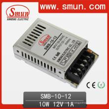 Interruptor plástico ultra fino da fonte de alimentação da caixa de 10W 12V0.8A