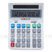 12 Digits Electronic Desktop Calculator with En/Jp Optional Tax Function (LC222T-JP)