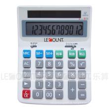 Calculadora de mesa eletrônica de 12 dígitos com função de imposto opcional En / Jp (LC222T-JP)