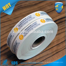 Ultra hologram breakable Vinyl Labels,Cargo Security Seals label,Eggshell Paper destructible Warranty Security Sticker